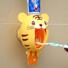 Автоматическая сжатие зубная паста устройство бездельник зубная паста экструзия машинально мультфильм про животных моделирование сжатие зубная паста ребенок любители