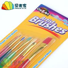 7 филиал конфеты ширина узкий ребенок пигмент живопись щетка гуашь карандаш кисти строка карандаш детский сад творческий прекрасный техника живопись установите