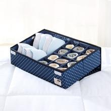 День вертикальный моющиеся 24 в клетках одежда для хранения коробка имеет крышка колготки доход каролина коробки разбираться коробка бюстгальтер коробка для хранения большой