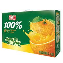 【 рысь супермаркеты 】 обмен источник 100% оранжевый сок 1L*6 коробка сконцентрировать фруктовый сок фрукты напитки полная загрузка контейнера (fcl) подарок
