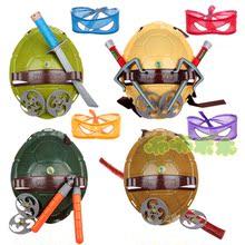 Бесплатная доставка мальчик ребенок броня черепашки мутанты ниндзя оружие черепаха оболочка заставка игрушка одежда одежда реквизит наряд играть