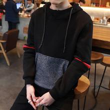 Мужской 2017 новый осень корейский закрытый свитер с рукавами студент тенденция пальто школьник свободный закрытый одежда