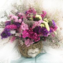Сухие цветы природный сухие цветы действительно цветок юньнань сухие цветы цветочная композиция цветок незабудка семья цветочная композиция кофейный столик цветок пакет