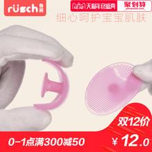 Провинция шаньдун фиолетово-красный ребенок силиконовый шампунь щетка ребенок ванна массаж мягкий щетка шампунь гребень ванна вытирать купаться статьи