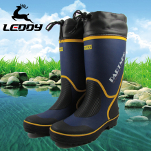 Мелодия на открытом воздухе рыбалка обувной осень и зима скольжение водонепроницаемый сапоги рыбалка ботинки мужской высокий крышка обувной вешать рыба статьи