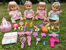 Умный моделирование ребенок кукла сказать слова моча моча подмигивание иностранных кукла принцесса девушка отцовство ребенок игрушка установите