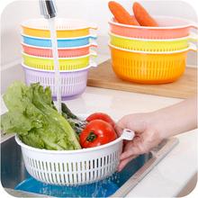 Кухня двойной пластик капающий корзина мыть блюдо бассейн омывается корзина с фруктами интенсивный мыть метр устройство мыть блюдо корзина процедить корзину фильтр вода сито