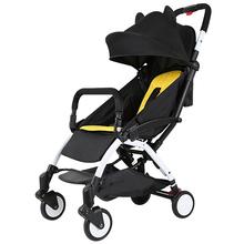 Ребенок тележки легкий нести сложить ребенок ребенок четырехколесный небольшой толчок автомобиль лето от себя легко ребенок bb зонт автомобиль