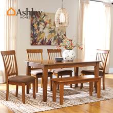 Ashley любовь комната корея домой американский обеденный стол стул ретро небольшой квартира магазин домой длинный стол круглый стол D199