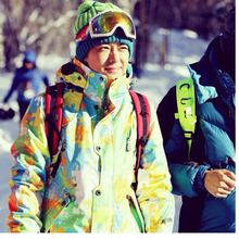 Линжи умный в этом же моделье катание на лыжах костюм модельа на открытом воздухе водонепроницаемый теплый моно,парный доска катание на лыжах нижнее белье любителей