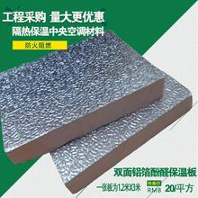 Двухсторонняя алюминия мишура фенол альдегид сохранение тепла доска солнечный свет дом изоляция доска комплекс доска в центр кондиционер дефлектор фольга сохранение тепла доска