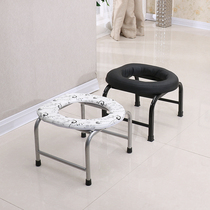 Folding Anti Skid Commode Chair Of Elderly Pregnant Women Old Toilet Stool  Simple Toilet Chair