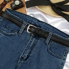 Кожаный ремень женщина простой фасон черный хорошо талия брюк группа корея студенты установки украшения ретро джинсы с мужчинами корейский