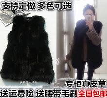 2017 новый зима корейский длина лиса жилет лиса волосы жилет шуба енот меховой жилет шуба пальто