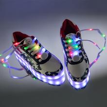 Ребенок красочный свет обувной девочки светящиеся обувь мальчиков usb зарядка вспышка обувной led свет обувной отцовство обувной обувь волна