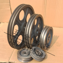 Треугольник кожаный ремень круглый чугун кожаный ремень блюдо B двойной корыто диаметр 120-600mm( пустой ) продаётся напрямую с завода 2B