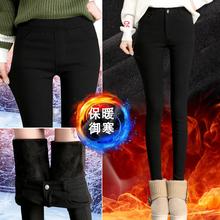 Лосины на пуху женщина верхняя одежда осень и зима 2017 новый корейский тонкий утолщённый высокой талия ноги карандаш брюки ребенок брюки
