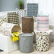 Домой ткань водонепроницаемый складной хранение корзина хранение корзина игрушка грязный одежда одежда корзины грязный одежда корзина прачечная корзина