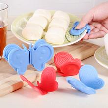Домой домой творческий бабочка кухня изоляция силиконовый взять блюдо клип чаша устройство жаркое коробка использование выпекать выпекать анти горячей перчатки