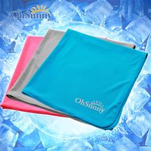 Coolcore импорт холодный смысл солнцезащитный крем увеличение движение полотенце мужской и женщины фитнес баскетбол бег пот быстросохнущие бесплатная доставка