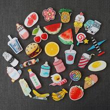 Маленький побег в соответствии с милый мультики фрукты еда холодильник творческий личность магнит магнитный паста поглощать железо камень магнитный паста