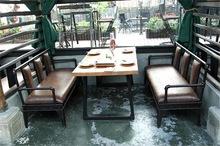 Железо ретро бар столы и стулья промышленность ветер диван блюдо барбекю случайный бар западный магазин кофе зал диван палуба