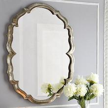 Простой континентальный настенный спальня соус зеркало косметическое зеркало ворота зал декоративный зеркало еда край зеркало искусство зеркало вход зеркало стандарт