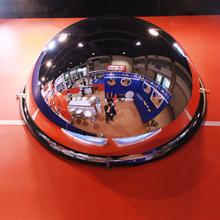 1/2 сфера отражатель 80cm выпуклый широкий угол зеркало супермаркеты кража зеркало видение открыто широкий безопасность зеркало акрил 2.0