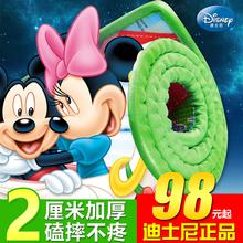 Disney подлинный ребенок ползать колодка сгущаться 2cm ребенок подъем подъем подушка охрана окружающей среды влага ребенок игра играть одеяло