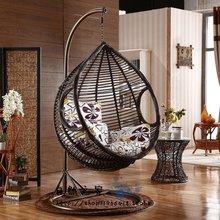 Грубый виноградная лоза корзина копия виноградная лоза вешать стул на открытом воздухе качели плетеный стул балкон колыбель стул комнатный суд больница случайный кресло-качалка вешать стул