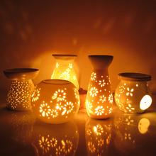 Ао мир керамика масло ароматерапия свет творческий курильница ароматерапия печь свеча масло свет масло печь отели спальня настольные лампы