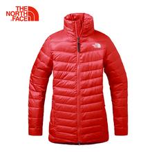 TheNorthFace северная поверхность удобный сохраняющий тепло сопротивление долго на открытом воздухе движение женщина вниз пальто |2U92