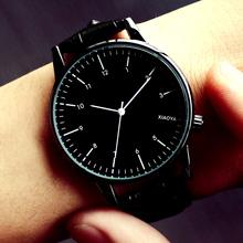Наручные часы мисс студент корейский моды тенденция водонепроницаемый простой серебристые мужские часы кожаный ремень женская форма любители наручные часы пара