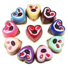 Церемония волна творческий продавать в сердца форма торт полотенце подарок жизнь праздник свадьба возвращение церемония цяо движение бизнес акции подарок