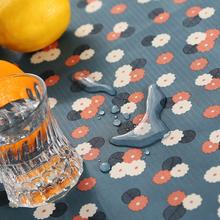PVC скатерть геометрическом горячей масло одноразовый небольшой сад свежий прямоугольник обеденный стол ткань пластик кофейный столик стол подушка