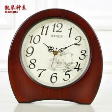 Торжествующий гусли часы античный континентальный сиденье колокол гостиная немой творческий тайвань колокол спальня сидеть колокол простой деревянный часы украшение