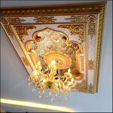Континентальный прямоугольник свет бассейн потолок декоративный гостиная оспа доска потолок ps пена материал свет блюдо x-209