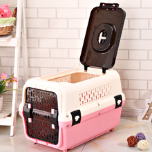 Домашнее животное авиация коробка собака кот клетка портативный из авиация клетка самолет ящик домашнее животное коробка воздушная перевозка коробка тедди