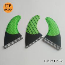 Future прибой рыба плавник прибой доска хвост руль Future G5 Fin новый соты углерод прибой хвост руль