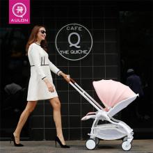 Ребенок от себя автомобиль легкий складные зонт автомобиль четырехколесный амортизатор ребенок автомобиль может сидеть можно лечь дети может