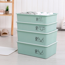 Для хранения белья матрёшка наборы пластик рабочий стол бюстгальтер трусы носки хранение ящик хранение разбираться коробка покрытый