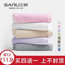 Три прибыль полотенце утолщенный чистый хлопок хлопок мыть домой для взрослых абсорбент мужской и женщины любители большое полотенце тряпка для мытья посуды одной установки