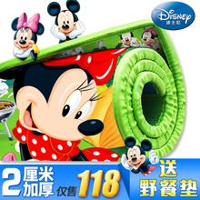 Disney ребенок ползать колодка подъем подъем площадка толстый охрана окружающей среды дуплекс ребенок ползучий одеяло сгущаться 2cm пена коврики
