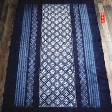 Юньнань дали краситель скатерть чистый хлопок материал завод синий краситель прямоугольный ветер метоп брелок занавес чайный стол ткани