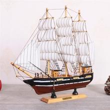 Сумка почтовая в море стиль парусное судно модель домой декоративный пусть ветер всегда дует вам в спину! украшение ручной работы деревянный дерево судно декоративный статья