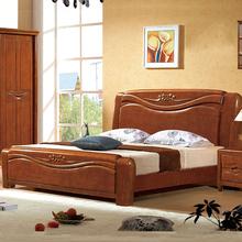Деревянные кровати 1.51.8 3м один высокий ящик хранение выдвижной ящик кровать