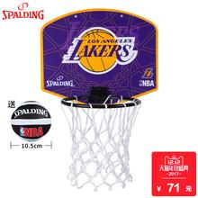 Сполдинг мини спинодержатель домой ребенок обучение баскетбол баскетбол коробка комнатный на открытом воздухе настенный стиль корзина