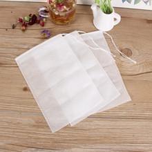 100 месяцы 10*15cm ткань мешок привлечь линия чай пакет фильтрация мешок одноразовые приправа пакет галоген мешок обжаренный медицина мешок