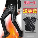 Одежда, Мужские брюки, Кожаные брюки