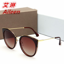 a86b055881a 2017 net red new polarized ladies sunglasses literary youth sunglasses  foreign trade style-type glasses